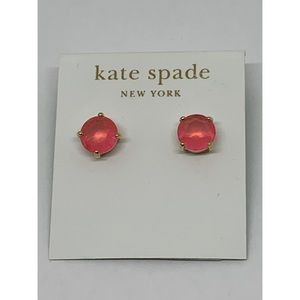 Kate Spade Pink Crystal Earrings NWT $48